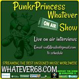 PunkrPrincess Whatever Show recorded live on whatever68.com 6/09/2018