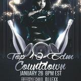 Top 10 EDM Countdown with Freesty Chulo & Dj Lexx 1-26-16