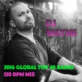 2016 Global Radio Top 40 EDM Mix (EDM, Dance, & Hip Hop) (120 bpm)