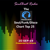 The TraxSource Soul/Funk/Disco Chart Top 25 - 24-Sep-19