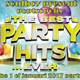 happy 1 of januari 2017 with poptropolis the best of partyhits! all day long