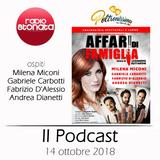 Poltronissima 4x08 - 14.10.2018 - Affari di Famiglia M. Miconi G. Carbotti F. D'Alessio A. Dianetti