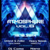 DJ Como - Live@Atmosphere Vol. 6 Art Klub Trnava 18_10_2014