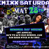 Avalon 80s-90s Memorial Day party !!