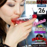 Cocktails Musica Italiana 26 Ottobre
