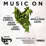 "Leon ""Music On at the Jungle "" at BPM 2017 (Playa del Carmen,Mexico) 08/01/ 2017"