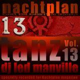 DJ Led Manville - Nachtplan Tanz Vol.13 (2014)