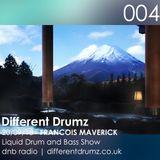 Francois Maverick Liquid Drum and Bass Show. Different Drumz DNB Radio 004
