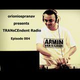TRANsCEndent Radio | Episode 004 | Trance Heaven