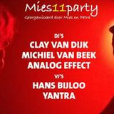 Clay van Dijk @ the PM Party at the Recycle Lounge Gallery Club 44 Amsterdam (11-11-2016)