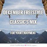 WVMLOMUSICRADIO December Freestyle Classic's Mix -- DJ Carlos C4 Ramos