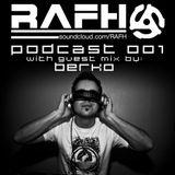 RAFH Podcast :: Episode 001 :: Guest mix by BERKO - June 2011