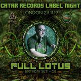 Full Lotus 50th Birthday Set At Catar Records And Psychedelic Way Party,24th November 2019