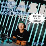 Beats From The East on CJLO1690am - The Return - 16/08/2018 - Special Guest : Richie Traktivist