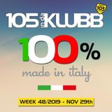 100% MADE IN ITALY WEEK 48-2019