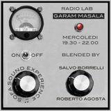 Garam  Masala - 30 Marzo 2016 con Salvo Borrelli (regia R.Agosta) special Massimo Vanoni mix set