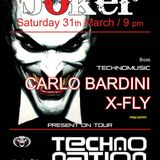 DJ X-FLY @ TECHNO NATION JOKER 31-03-2012 EARLY HARDCORE