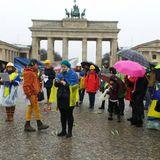 Worldwide Maydan #19: 2 Year Anniversary of Maydan Slaughter Memorial (Berlin, Pariser Platz 2016)