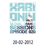 Xabi Only - Global Trance Sessions 020 (20-02-2012)