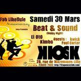 Fab/kimbo/EïOto/PCarter/Kwick@kiosk club Lille 03 2013