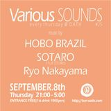 Mixing at Various SOUNDS#25 (9th September 2016)