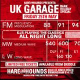 Live Uk Garage Set Bank Holiday May 2018  Dj Nigel B