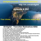 Airdigital - Trancefan Radioshow #292 2017-03-24