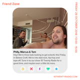 Friendzone - 26th October 2018