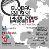 Dan Price - Global Control Episode 194 (14.01.15)