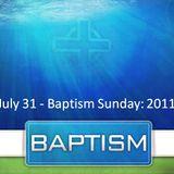 Baptism 2011 - Audio