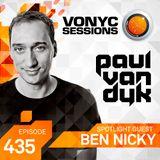 Paul van Dyk's VONYC Sessions 435 - Ben Nicky