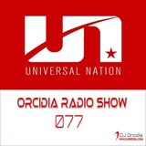 Orcidia Radio Show #ors077 pres. Universal Nation