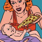 50 1-Minuten-Pizzastücke