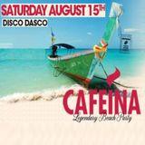 DISCO DASCO - CAFEINA BEACH PARTY 2015