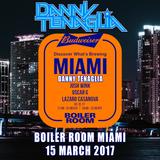 Danny Tenaglia - Live @ Boiler Room Miami - 2017.03.15