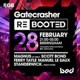 SCOTT BOND - GATECRASHER REBOOTED PROMO