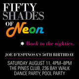 DJ Brandon Hogstad: Fifty Shades of Neon - Back to the 80s