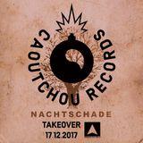 Caoutchou takeover Nachtschade Radio #1 - UrgentFM 17122017