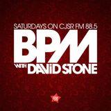 BPM with David Stone on CJSR 88.5 - November 17, 2018