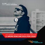 "Special Bruno Borlone Remixes Los 40 ""Disco Inferno"" Chile"