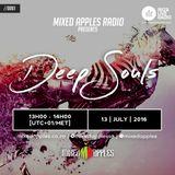 Mixed Apples Radio Show 061 - Ibiza Live Radio - mixed by Deep Souls (Johannesburg, ZA)