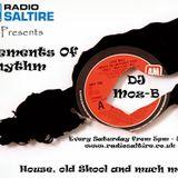 Radio Saltire presents Elements of Rhythm with Moz B 03.12.2016