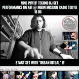 NINO PIPITO' 19-05 DJ SET PERFORMANCE @ MOON MISSION RADIO TOKYO