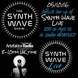 THE SYNTH WAVE SHOW 9 'Synth Wave Live 2017'