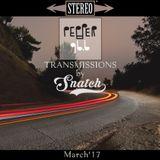 Transmissions @ Pepper 96.6 (March '17) by DJ Snatch