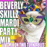 Mardi Party Mix- 2015- Live on Two Turntables