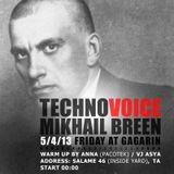 Mikhail Breen at TECHNOVOICE (Gagarin Club, Tel Aviv, 05.04.2013)