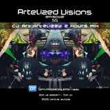 Artelized Visions 055 (July 2018) with CJ Art ][ Artelized 2 Hours Mix on DI FM