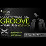 Groove #17 @ Vorterix Bahía (emitido el 05-05-17)