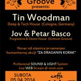 Tin Woodman @ Caffe CHE For A Good Cause